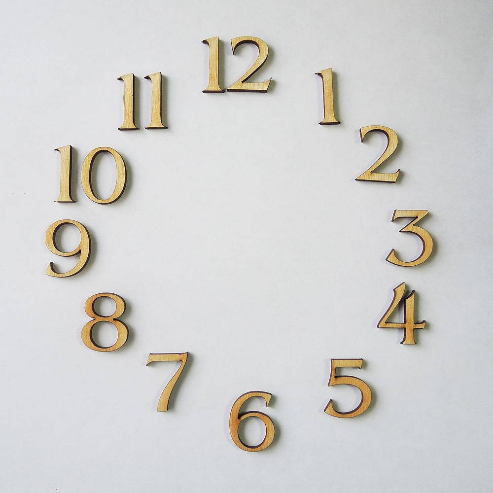 Красивые цифры для часов своими руками 666