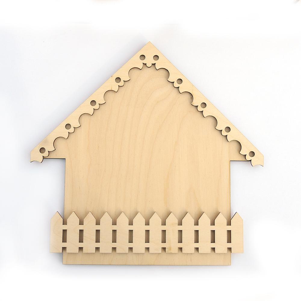 Ключница из дерева домик своими руками 14